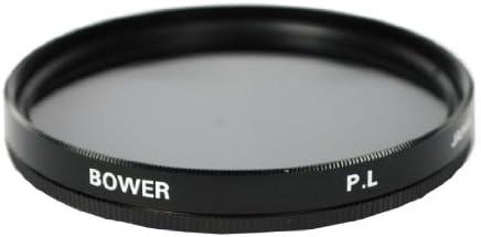 Bower FPC52 Digital High-Definition 52mm Polarizer Filter,Black