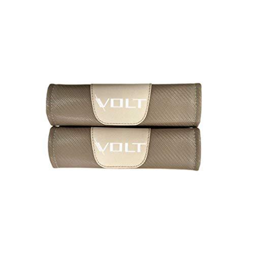 Cinturón seguridad extraíble automóvil Almohadillas confort Fundas correas cinturón seguridad, para Chevrolet Volt automóvil Cinturones seguridad moda Protección hombreras Accesorios calidad 2 piezas