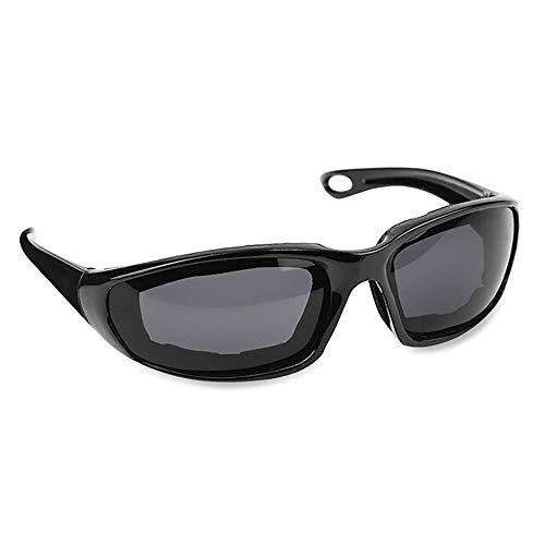 24 JOYAS Gafas Moto con Almohadillas Protectoras del viento para Ciclistas y Motoristas Unisex