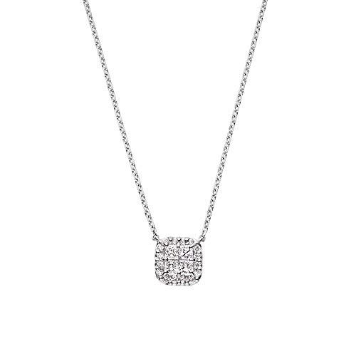 [ヴァンドーム青山] ダイヤモンド 0.22ct プラチナ Pt950 ネックレス APVN194145DI