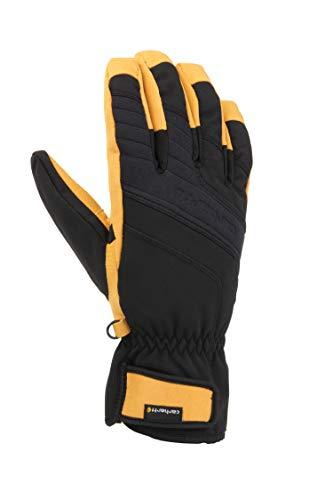 Carhartt Men's Winter Dex Glove, Black Barley, Small