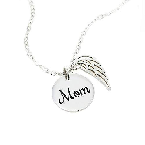 Colar Mom Remembrance Eternal Light and Love Mother Memorial Necklace