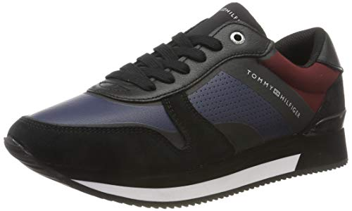 Tommy Hilfiger Active City Sneaker, Zapatillas para Mujer, Negro (Black 990), 36...