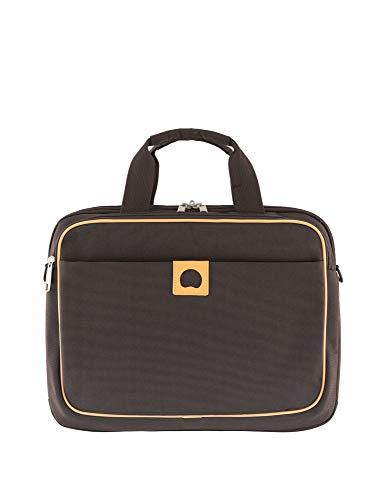 Delsey Montholon cartella portadocumenti 39 cm compartimenti portatile marrone