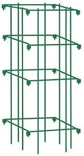 Gardener's Supply Company Square Tomato Cage, Single, Green