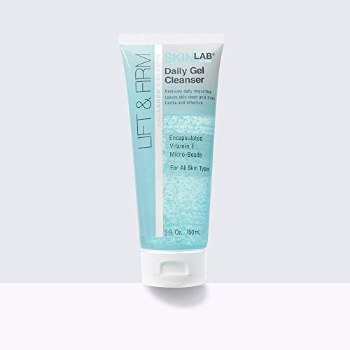 SKIN LAB BY BSL Lift & Firm Daily Gel Cleanser- Remove Impurities Trapped with Extra Burst of Vitamin E 5Fl. Oz.(150 ML)