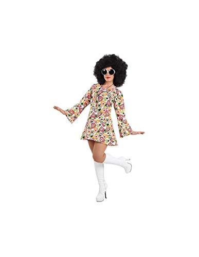 DISBACANAL Disfraz Hippie años 70 Mujer - -, L