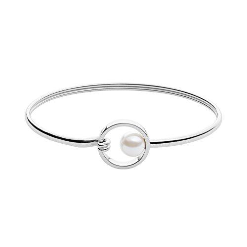 Skagen Damen - Edelstahl Rund Perlen