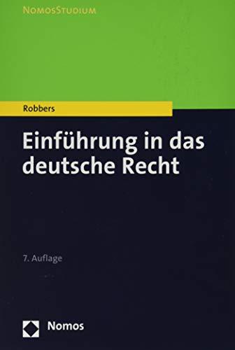 Einführung in das deutsche Recht (NomosStudium)