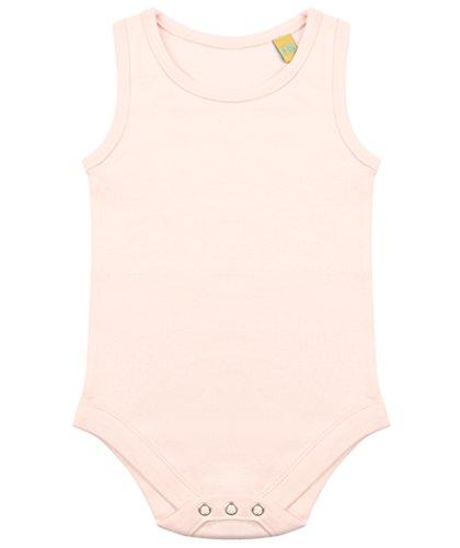 Larkwood Plain Baby Körper Weste - Pale Pink - 36