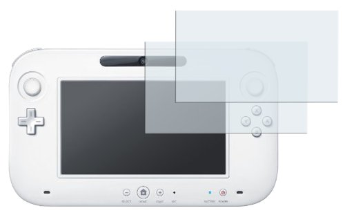 mumbi Schutzfolie kompatibel mit Nintendo Wii U Folie klar, Displayschutzfolie (2x)