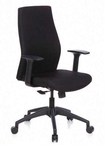 HJH Office, ERGO-TEC 100, bureaustoel, directiestoel zwart
