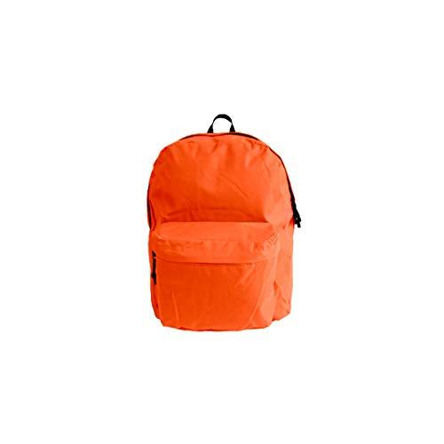 Projects Rucksack 'Basic Line' - aus strapazierfähigen Polyester - Premium Qualität - universell einsetzbar für Damen, Herren & Kinder - Leichter Arbeitsrucksack - 8 Trendige Farben (orange)