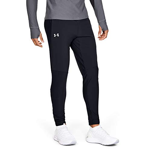 Under Armour UA Qualifier Pant Pantalon Homme, Noir, L