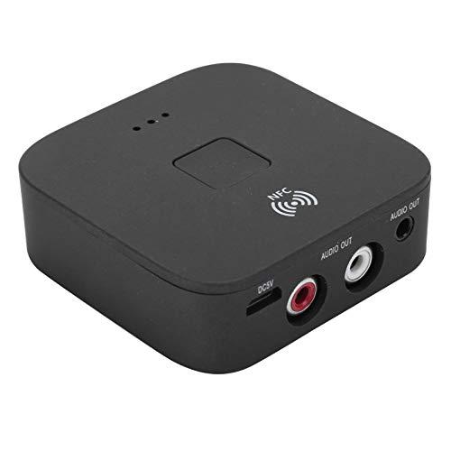 Weikeya Bluetooth Música Receptor, Abdominales Hecho Bluetooth Altavoces Bluetooth Audio Adaptador Aptx Bajo Latencia por Televisor Carro