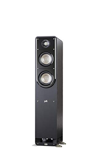 professional Polk Signature Series S50 Floor Stand Speakers – American HiFi Surround Sound for TVs, Music and more