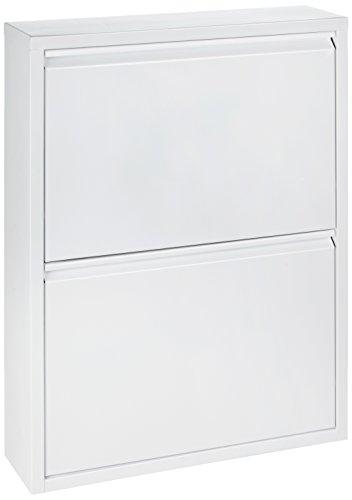 simple..*M* 4001070101174 Schuhklapper, 50 x 15 x 70 cm, metall, weiß