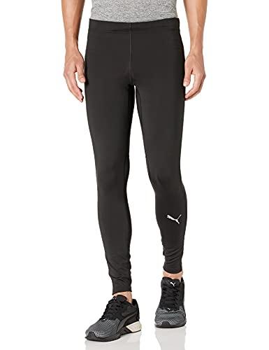 PUMA Herren Run Favorite Long Tights Leggings, Black, X-Klein