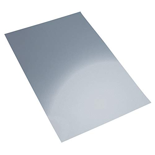 Rayher 2707200 Alu-Spiegelfolie, 20x30 cm, Beutel 1 Stück