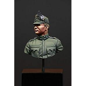 バイス75 1/16 第一次世界大戦 オーストリア・ハンガリー帝国 山岳師団猟兵将校 胸像 (SBSモデルブランド) レジンキット SBMV16006