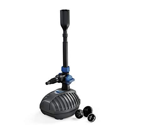 Oase Aquarius Fountain Set Classic 4000 E, Wasserspielpumpe für Teiche bis zu 4.000 l/, energieeffizient