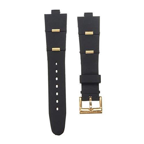 GOZAR - Cinturino per orologio Bvlgari in gel di silice da 22 mm