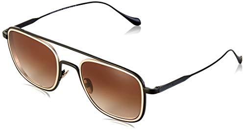 Armani GIORGIO 0AR6086 Gafas de sol, Matte Black/Bronze, 53 para Hombre