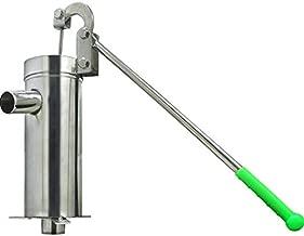 Deep Well Water pump 32mm Handheld Press Pump Hand Well Pump Stainless Steel for Industrial Work or Garden Yard Farm Home (US Stock)