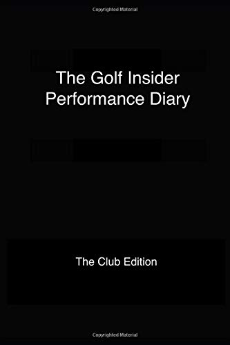 The Golf Insider Performance Diary
