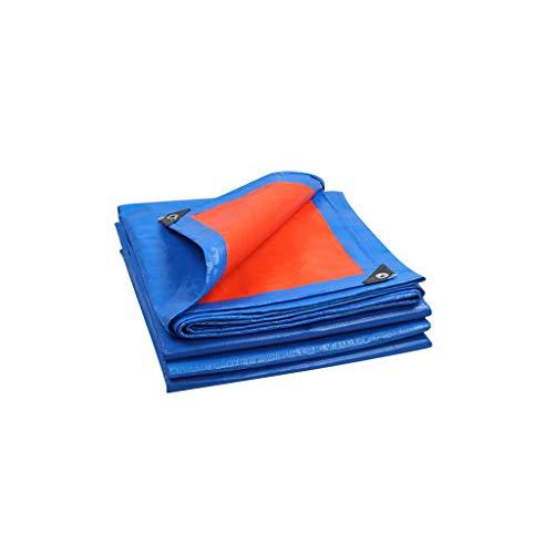 LHR Lona impermeable resistente al agua, resistente al agua, para exteriores, cubierta contra el polvo, lona impermeable de aislamiento de 3 a 10 m (tamaño: 5 x 8 m)