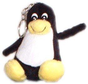 Linux PinguinHappy Tu 10 cm mit Schlüsselanhänger