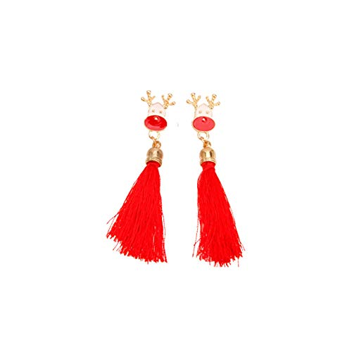 jieGorge Earrings, Christmas Earrings Set Ear Cute Christmas Jewelry for Women New Year Gifts, Jewelry for Women Gifts (Multicolor)