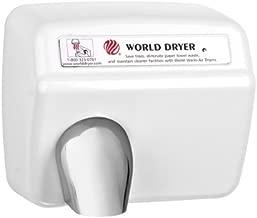 World XA5-974 208/230 Volt Automatic Hand Dryer