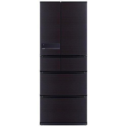 三菱 6ドア冷蔵庫 「置けるスマート大容量 JXシリーズ」(475L) MR-JX48LZ-RW ロイヤルウッド