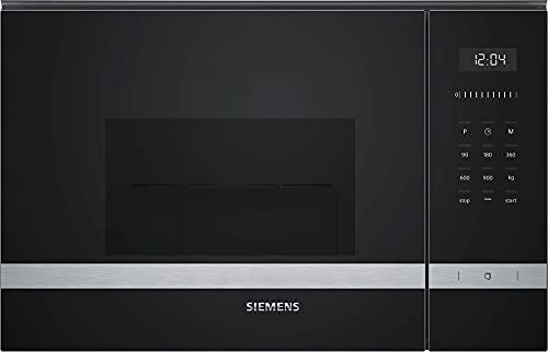Siemens BE555LMS0 microondas Integrado Microondas con grill 25 L 900 W Acero inoxidable