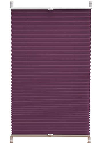 Deco4Me Estor plisado (65 x 140 cm), color berenjena