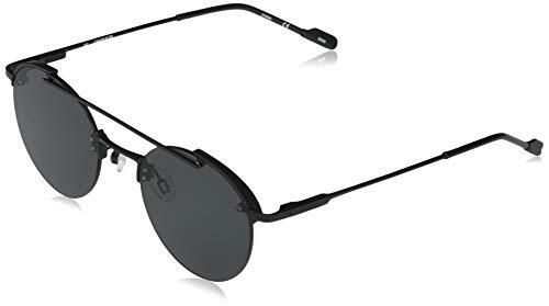 Calvin Klein EYEWEAR CK20133S-001 Gafas, Matte Black/Solid Smoke, 50-21-140 Unisex Adulto