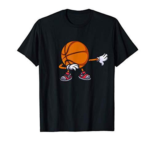 Dabbing Baloncesto Niños Dab Camiseta