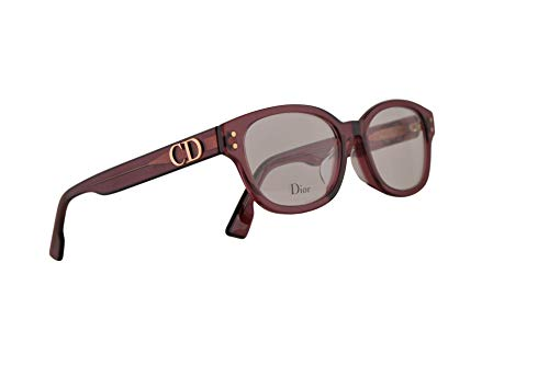 Dior Christian DiorCD2F Brillen 51-17-145 Burgundy Mit Demonstrationsgläsern LHF CD2F