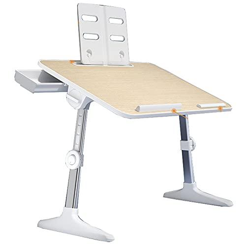 LJFYXZ Mesa Escritorio Escritorio Ajustable para computadora portátil Altura y ángulo Ajustables para Soporte de Lectura para portátil 60x40cm