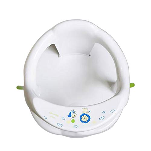 Baby Bath Seat Infant Bath Chair Non-Slip Toddler Bath Seat for Bathtub Foldable Safety Bathtub Seat for Sit-Up Bathing with Anti-Slip Round Edge
