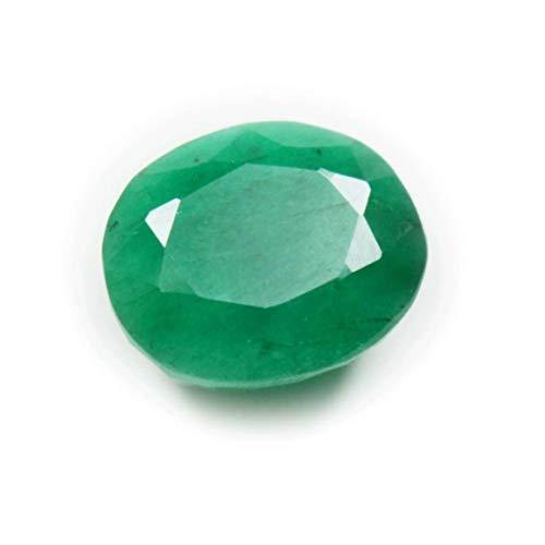 Original indischen Smaragd Edelstein 5 Karat Oval lose Stein astrologischen Schmuck machen zum Großhandelspreis