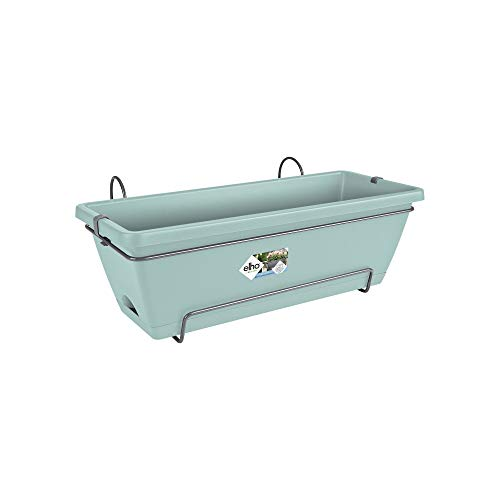 Elho Barcelona all-in-One Fioriera, Menta, 50 x 28.6 x 21.4 cm, Colore: Menta