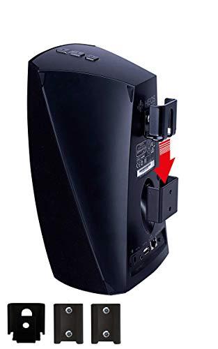 Vebos Support Mural Portable Denon Heos 3 Noir Haute qualité pour Une expérience Audio optimale dans n'importe Quelle Chambre - Vous Pouvez accrocher Votre DENON Heos 3 Partout - DENON Heos 3