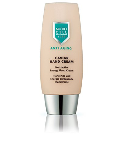 Micro Cell 3000 Anti Aging Caviar Hand Cream, regenerierende und aufbauende Handcreme, 75 ml