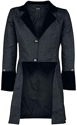 Banned Alternative Broque Männer Militärmantel schwarz M 100% Polyester Gothic, Romantik, Steampunk