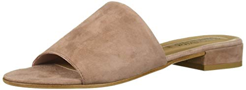 Bella Vita Women's Bella Vita Tes-Italy slide sandal Shoe, Blush Italian suede leather, 5 M US