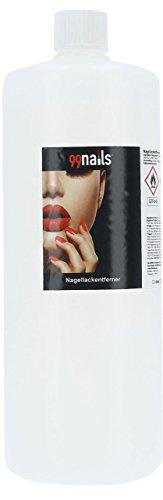 99nails Nagellackentferner Acetonfrei, 1er Pack (1 x 1000 ml)