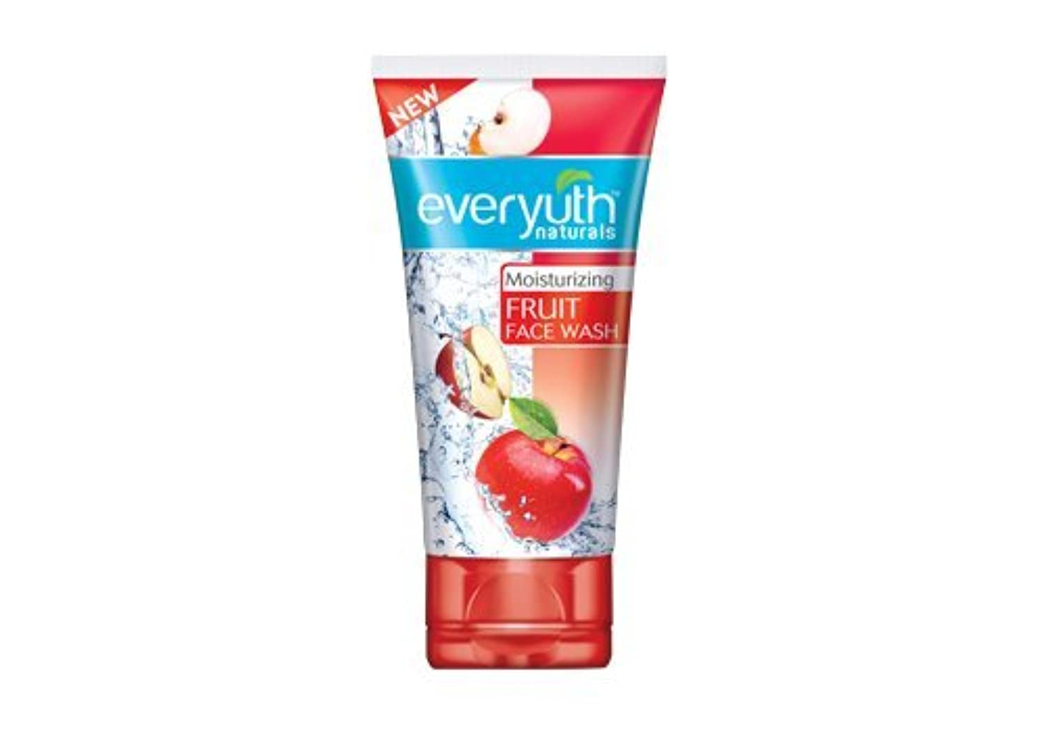さておきバラ色無線Everyuth Naturals Moisturizing Fruit Face Wash (50 g)