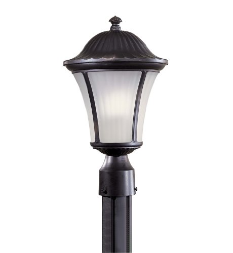 minka great outdoors one light post mount with photocell 8236 94 pl